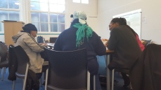 Money Course - Hard at work